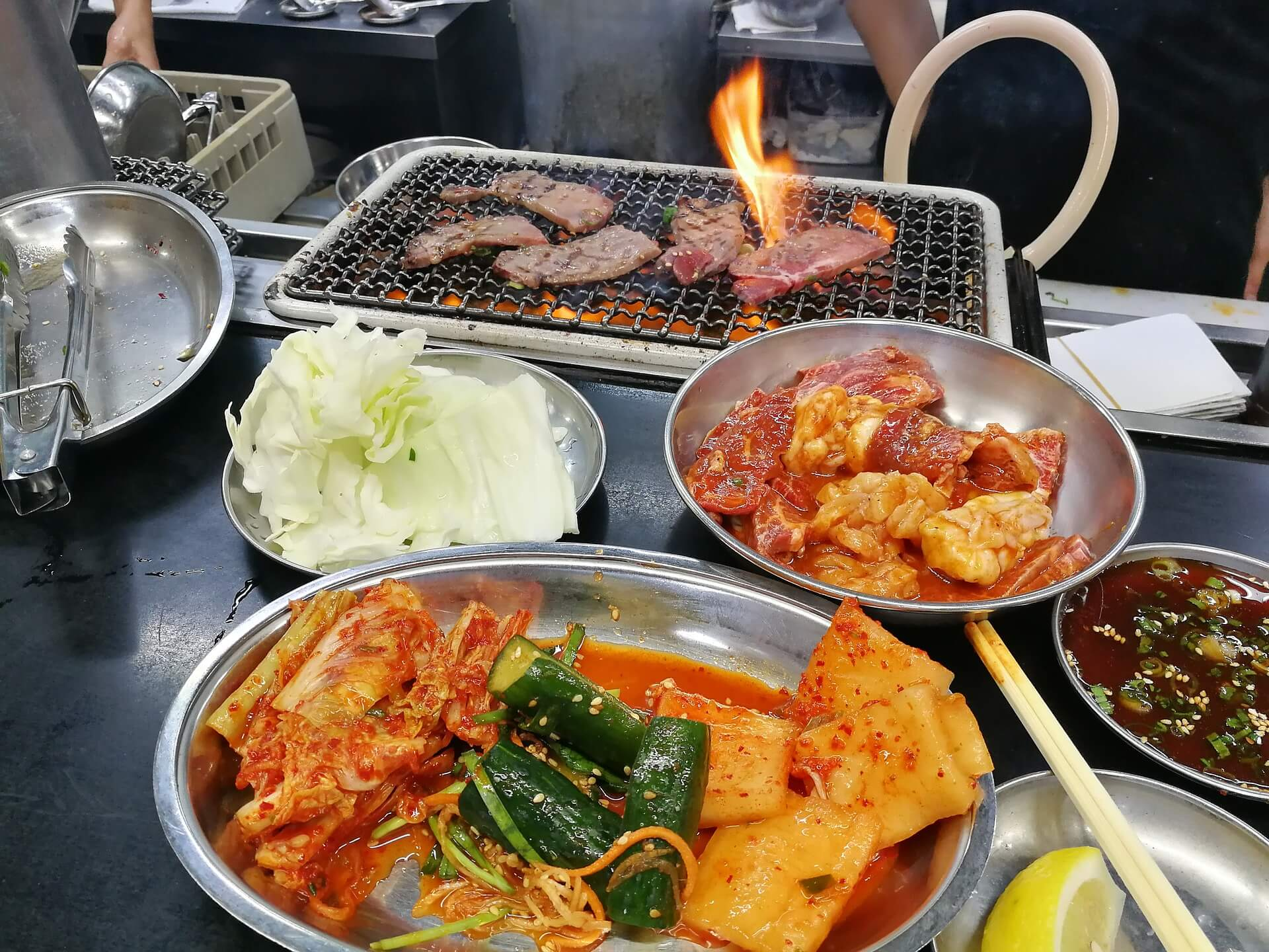 CHAM SUT GOL KOREAN BBQ header